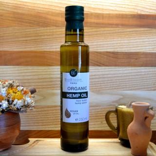 Bio konopljino olje iz oluščenih semen, 250 ml