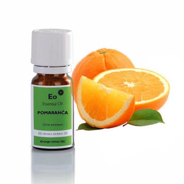 Pomaranča eterično olje (Citrus x aurantium dulcis peel oil)